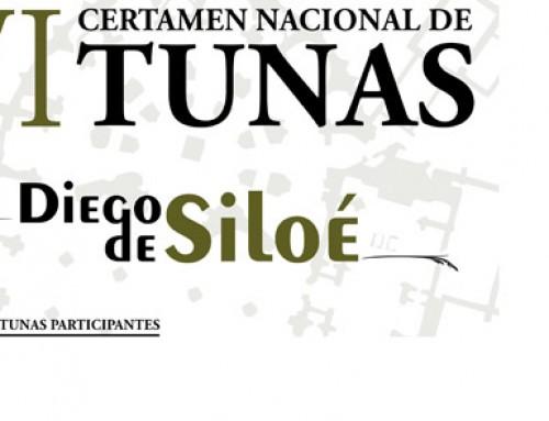 GRANADA ACOGE EL VIERNES 6 Y SÁBADO 7 EL IVº CERTAMEN DE TUNAS DIEGO DE SILOÉ
