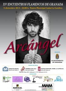 concierto de Arcángel, día 5 de diciembre a las 22:00 h.