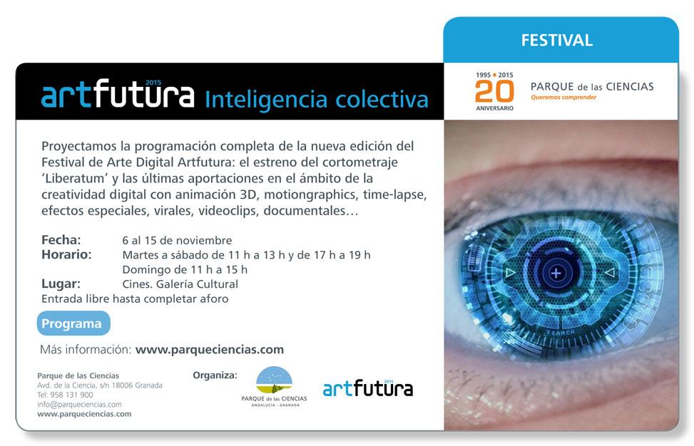 Festival Internacional ArtFutura 2015 en el Parque de las Ciencias